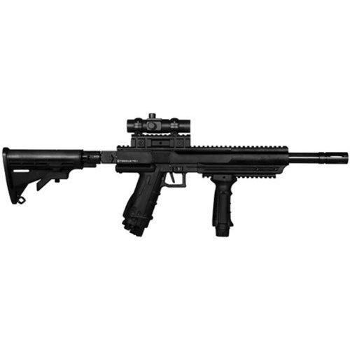 Best Tiberius Sniper Arms T9.1 Ranger Paintball Gun Rifle - Black