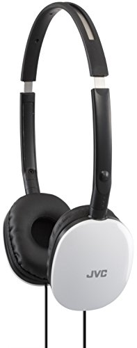 JVC Victor Head-band Foldable Headphones | HA-S160-W White (Japanese Import)