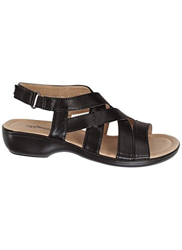 - AngelSteps Women's Adult Denise Casual Sandals 8 C/D US/Black