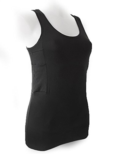 (Diabetes Tank Top with Pockets for Insulin Pump (M))