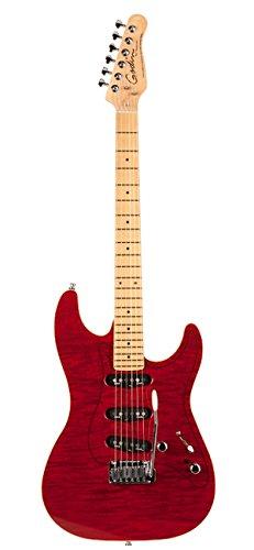 Godin guitarras 039531 rg-3 Trans rojo llama MN diseño guitarra eléctrica con bolsa: Amazon.es: Instrumentos musicales