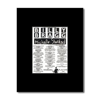 Billy Bragg Tour Poster