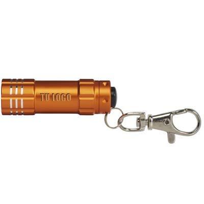 Pack de 50 unidades x Llavero linterna (láser, Naranja ...