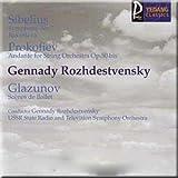Sibelius - Symphony No.7, Prokofiev - Andante for String Orchestra, Glazunov - 'Scenes de Ballet' for Orchestra - Gennady Rozhdestvensky