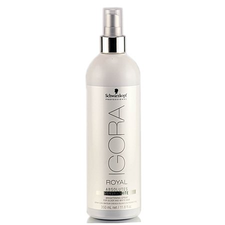 Schwarzkopf Professional Igora Royal Absolutes Silverwhite Brightening Spray, 11.8 Ounce