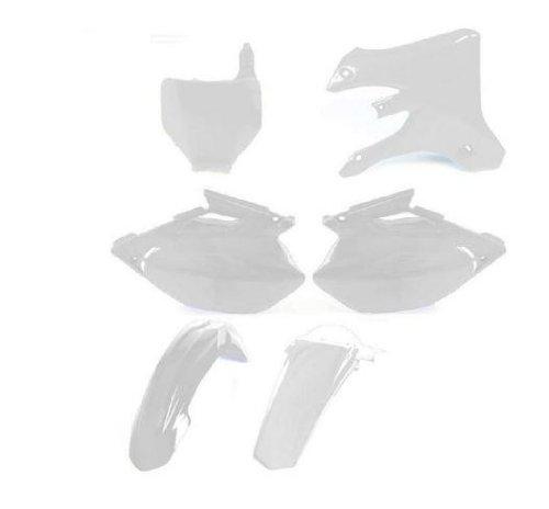 UFO Plastics Complete Body Kit White for Kawasaki KX 250F 09