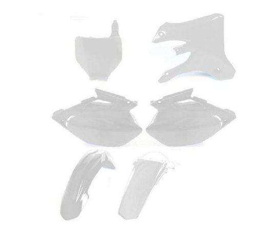 UFO Plastics Complete Body Kit White for Honda CRF 450R 07