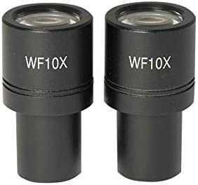 Field of View 18mm BoliOptics WF 10X Widefield Microscope Eyepieces High Eyepoint Reticle Mount Size 21mm MT14022211 Mounting Size 23.2mm Pair