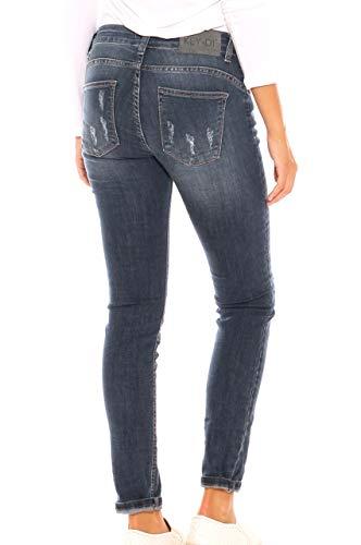 In Usure Key Cotone Con Denim Donna Jeans di Stretch Skinny xzwnAIHz