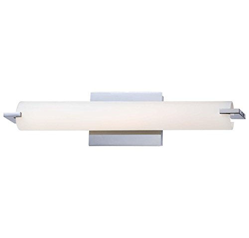 Price comparison product image George Kovacs P5044-077-L,  Tube,  LED Bath Fixture,  Chrome