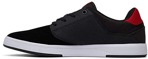 Athletic Noir Plaza Dc Shoes Black S Red Chaussures RXwvFqxpp