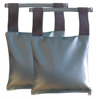 Patient Positioning Sandbags - Set of 2 Sandbags, 10-lb 11'' x 11'', Available in 6 Colors