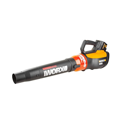 Worx WG591 TURBINE 56V Cordless Battery-Powered Leaf Blower with Brushless Motor & TURBO (Powerful Leaf Blower)