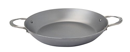 de Buyer 5652.32 11 in. Iron Paella Pan