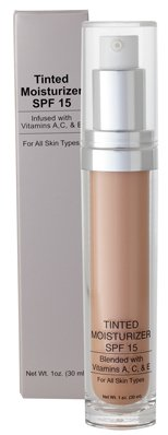 Jolie Sheer Hydrating Tinted Moisturizer W/SPF-15 Oil Free 1 oz. (Touch of Radiance)
