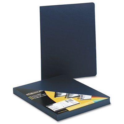 Fellowes FEL52145 Executive Presentation Covers,8.75 in. x 11.25 in.,50-PK,Navy