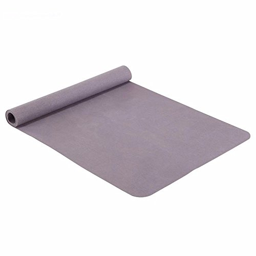 SJQKA-Rubber Yoga Pad, Fitness Mat, Men And Women Anti-Skid, Tasteless, Extended Genuine Sports Mat by SJQKA-yoga mat