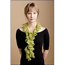 Shibui Swirl Scarf Knitting Pattern by Jane Field