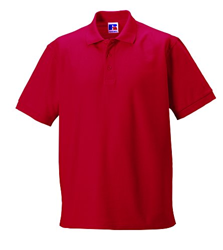 Jerzees Colours Ultimate Polo Shirt Rot - Classic Red