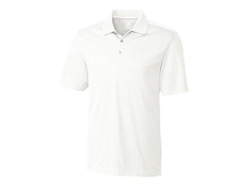 Cutter & Buck Men's Drytec Glendale Polo Shirt | MCK00966 White, XXXL
