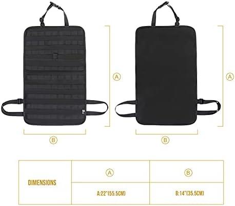 Details about  /OneTigris  Molle Car Seat Organizer 1000D nylon Seat Back Organizer