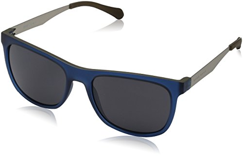 Sunglasses Boss Black 868 /S 005E Matte Blue Beige / IR gray blue - Hugo Boss Sunglasses Mens