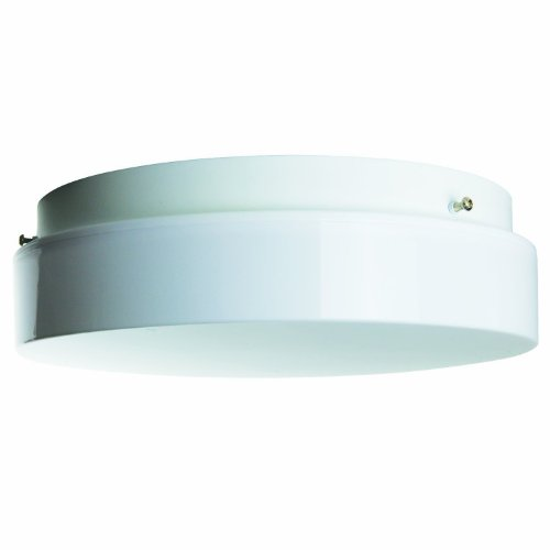 Sunlite AM32 12-Inch Fluorescent Circline Ceiling Fixture, White Finish with White - Circline Fixture