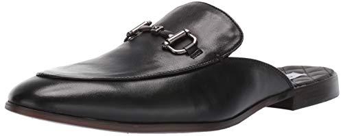 (Steve Madden Men's DAZLING Mule, Black Leather, 11 M)