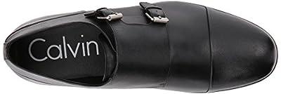 Calvin Klein Men's Sloan Dress Calf Monk-Strap Loafer