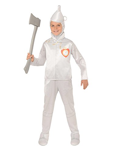 Rubie's Wizard of Oz Child's Tin Man Costume, Medium (Oz Tin Of Heart Man Wizard)
