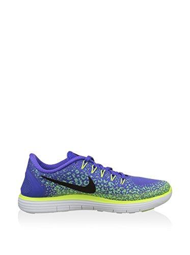 Nike Wmns Free Rn Distance, Zapatillas de Running Para Mujer Morado (Persian Violet / Blk-Grn Glw-Vlt)