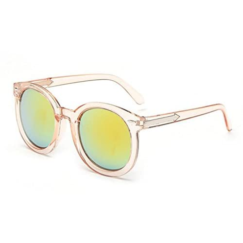 3fd377c5d7 Chic Gafas De Sol Redondas Gafas De Sol Retro Sra. Gafas De Sol De Color