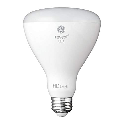 GE Reveal 6-Pack 65 W Equivalent Dimmable Color-Enhancing R30 LED Light Fixture Light Bulbs