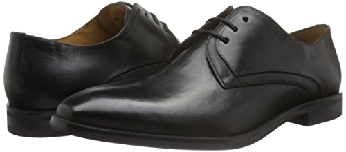 FRETZ men Castle, Zapatos de Cordones Derby para Hombre Negro - Schwarz (51 Noir)