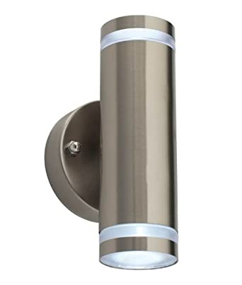 Saxby 12522 Aura Ip44 1w Led Up Down Exterior Wall Light