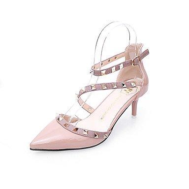 Club EU37 Casual FYios 5 mujeres Wedding CN37 UK4 Noche Verano Plataforma US6 5 amp;Amp; 5 Sequin Las del talones de hebilla Party Glitter 7 Vestido Primavera Zapatos waBIfa