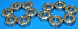 (TAMIYA Stadium Thunder Blitzer Set 12 Stainless Steel Bearing)