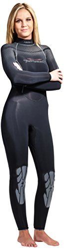 AKONA Women's Quantum Stretch Full Wetsuit, 5/7mm