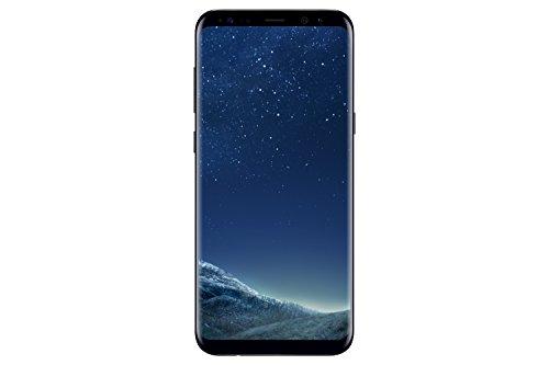 Samsung Galaxy S8 Plus, Smartphone libre (6.2'', 4GB RAM, 64GB, 12MP) [Versión francesa: No incluye Samsung Pay ni acceso a promociones Samsung Members], color Negro