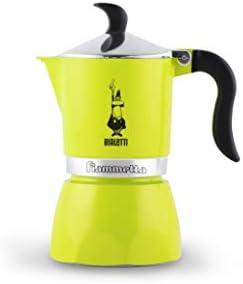 Bialetti Fiammetta Amarillo - Cafeteras italianas (Amarillo, 1 tazas, Aluminio, Fiammetta, 1 pieza(s), 6 pieza(s)): Amazon.es: Hogar