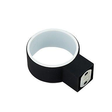 Xiao & Fei soportes para cepillo de dientes moderno pintura de caucho negro de aleación de zinc: Amazon.es: Bricolaje y herramientas