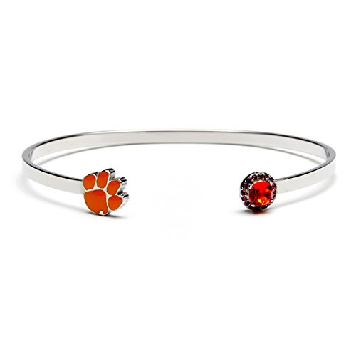 Clemson Tigers Jewelry - Stone Armory Clemson University Bracelet | Clemson Tiger Gifts | Officially Licensed Clemson University Jewelry