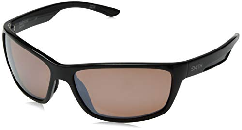 Smith Redmond Techlite Glass Sunglasses, Black, Polarchromic Copper Mirror ()