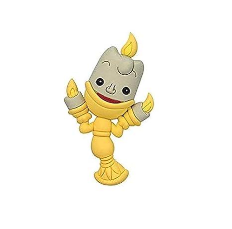 Llavero La Bella y la Bestia 3D Lumiere candelabro Disney ...