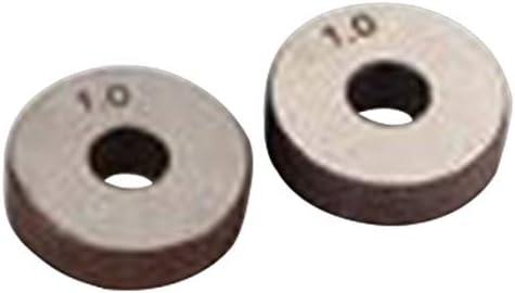 NO LOGO Rändelwerkzeug Schwarz Durable einzelnes Rad Gerade Linear Rändelwerkzeug 1,0mm Pitch 26mm Rad Hebt