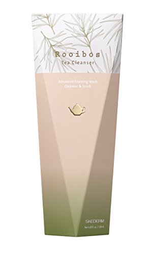 SKEDERM Rooibos Tea Cleanser Face Wash With Real Rooibos Tea Leaf 4 Fl Oz 120ml