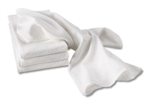 Aunt Martha's White Flour Sack Dish Towels, Size 28-Inch by 28-Inch, 2-Pack