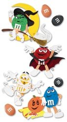 mm candy halloween characters dimensional scrapbook stickers mmjb004