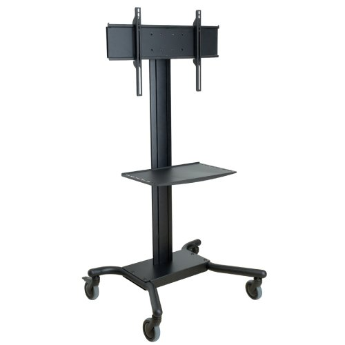 "Peerless Industries, Inc - Peerless Smartmount Sr560m Flat Panel Tv Cart - Metal, Steel - Black ""Product Category: Accessories/Stands & Cabinets"""