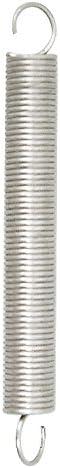 Gris 30/mm Set de 3/piezas Chapuis rst10/resorte de tracci/ón acero galvanizado